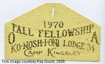Konoshioni Lodge #34 ex1970-1
