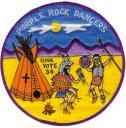 J-0.7 Purple Rock Dancer Jacket Patch