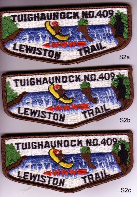 Tuighaunock Lodge #409 S2a, S2b, S2c