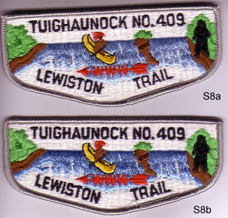 Tughaunock Lodge #409 S8a & S8b