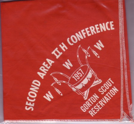 Second Area 2-H Conference 1957 Neckerchief