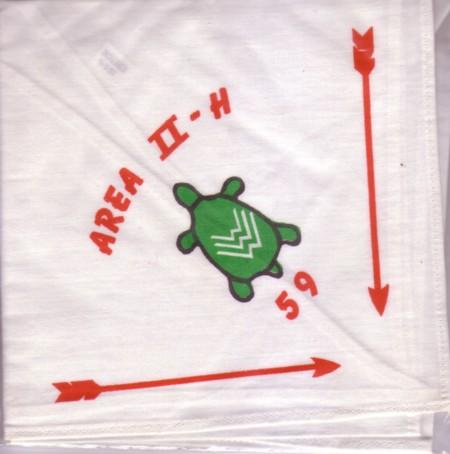Area 2-H 1959 Conclave Neckerchief