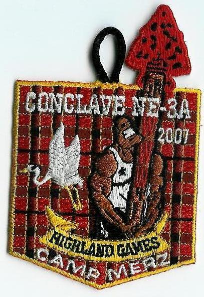 Section NE-3A 2007 Conclave Pocket Patch