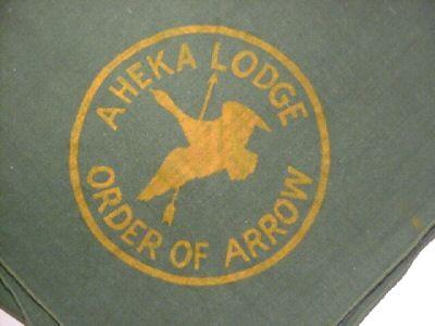 Unkown Aheka Lodge #359 Neckerchief