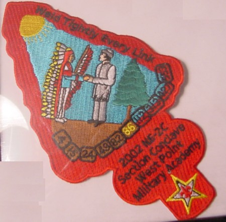Section NE-2C 2002 Conclave Pocket Patch.