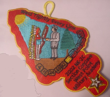 Section NE-2C 2002 Conclave Staff Patch