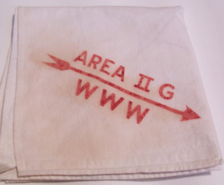 Area 2-G 1953 or 1955 Conclave Neckerchief
