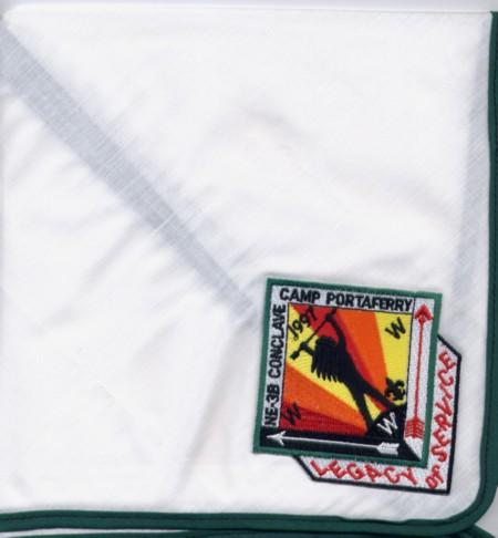 Section NE-3B 1997 Conclave Neckerchief
