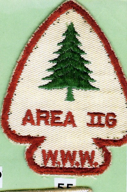 Area 2-G 1955 Conclave Patch