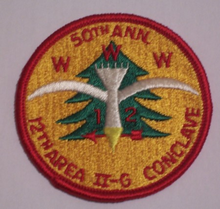 Area 2-G 1965 Pocket Patch