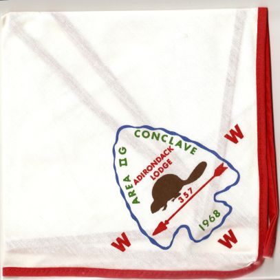 2-G 1968 Conclave Neckerchief