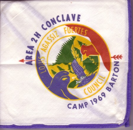 Area 2-H 1969 Conclave Neckerchief