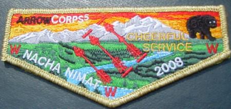 Nacha Nimat Lodge #86 ArrowCorps5 Delegate S31