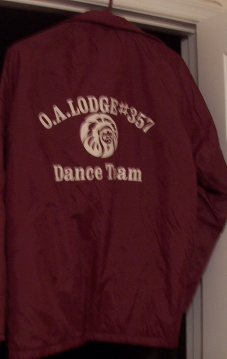Adirondack Lodge #357 Dance Team Jacket