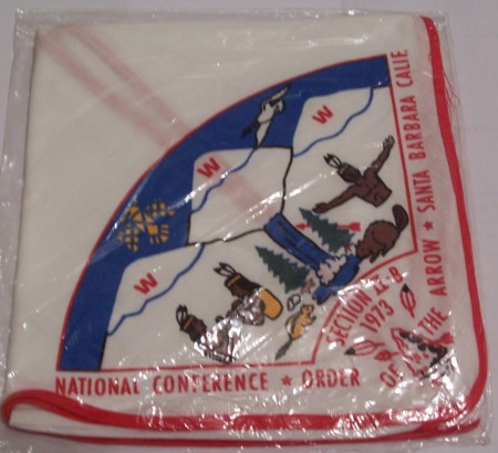 Section NE-2B 1973 NOAC Contingent Neckerchief