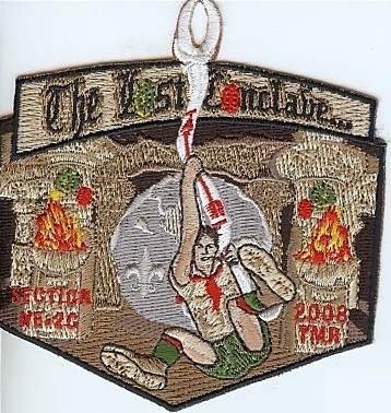 2008 NE-2C Conclave Pocket Patch