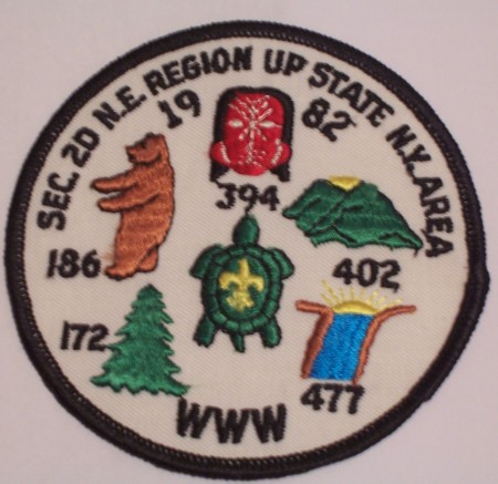 1982 Section NE-2D Conclave Patch