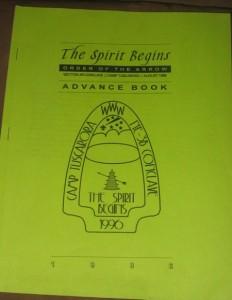 NE-3B 1996 Conclave Booklet