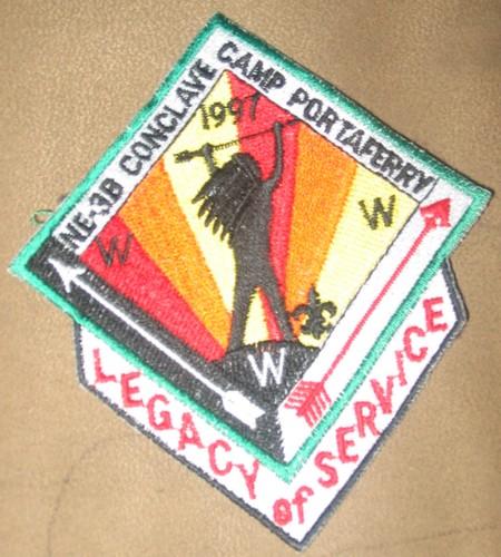 Section NE-3B 1997 Conclave Patch