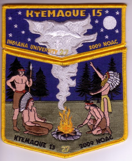 Ktemaque Lodge #15 S40 X 13 2009 NOAC Fundraiser Set