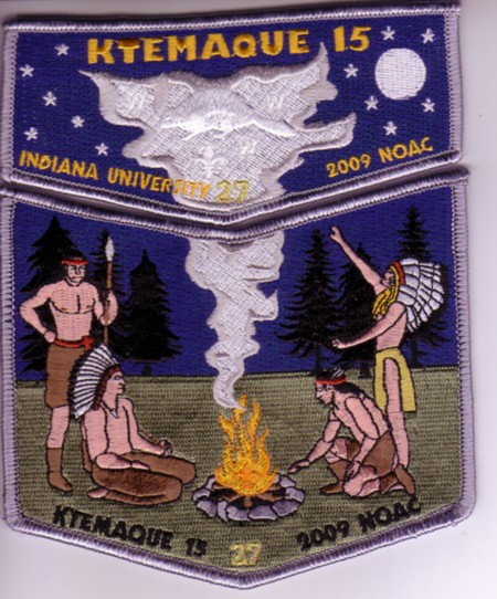 Ktemaque Lodge #15 2009 NOAC Contingent Set S41 X14