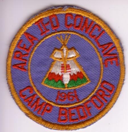 1961 Area 2-D Conclave Patch