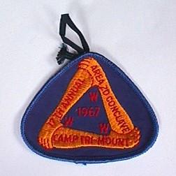 Area 2-D 1967 Conclave Pocket Patch