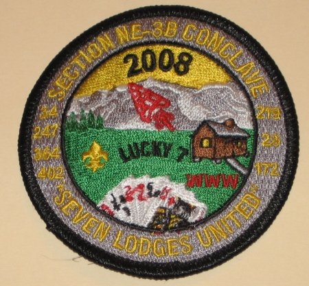 Section NE-3B Conclave Patch