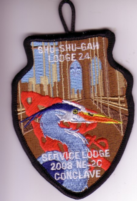 Shu Shu Gah Lodge #24 A2 2008 NE-2C Service Lodge