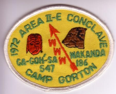 Area 2-E 1972 Pocket Patch