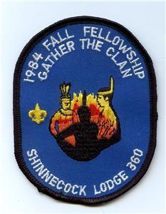 Shinnecock Lodge #360 1984 Fall Fellowship