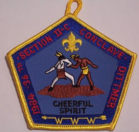 Section NE-2C 1984 Pocket Patch