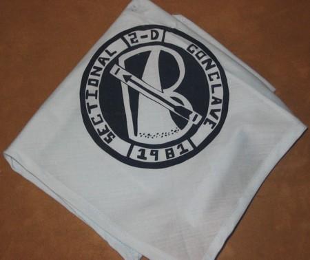 Section NE-2D 1981 Neckerchief