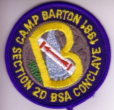 NE-2D 1981 Conclave Patch