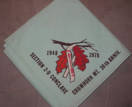 Section NE-2D 1978 Conclave Neckerchief