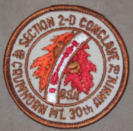 Section NE-2D 1978 Conclave Pocket Patch