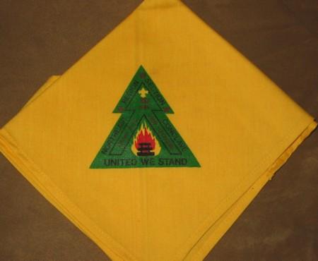 Section NE-2D 1984 Conclave Neckerchief