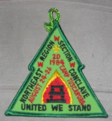 Section NE-2D 1984 Conclave Pocket Patch