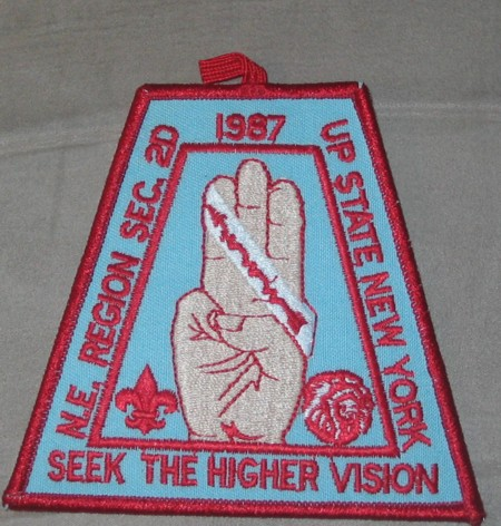 Section NE-2D 1987 Conclave Patch