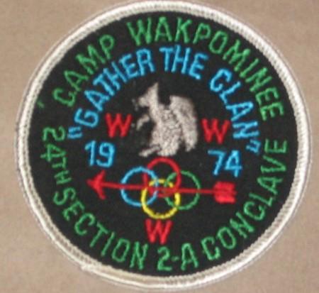 Section NE-2A 1974 Pocket Patch