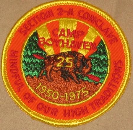 Section NE-2A 1975 Pocket Patch