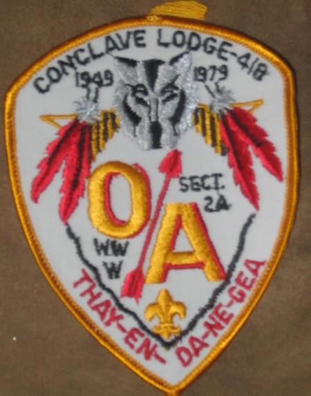 1979 Section NE-2A Pocket Patch
