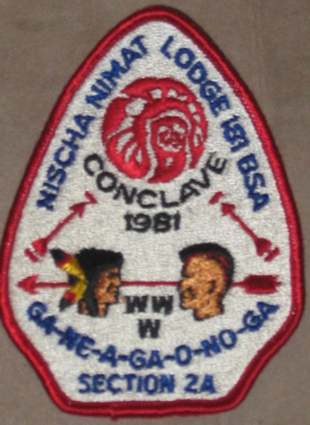 Section NE-2A 1981 Pocket Patch