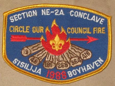 Section NE-2A 1988 Pocket Patch
