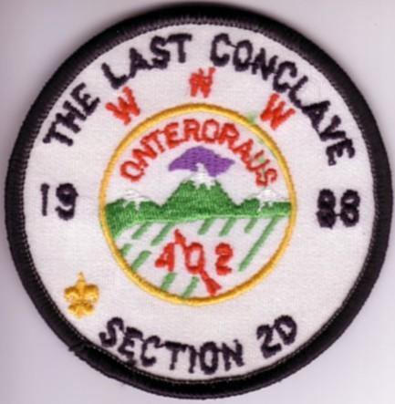 Section NE-2D 1988 Pocket Patch