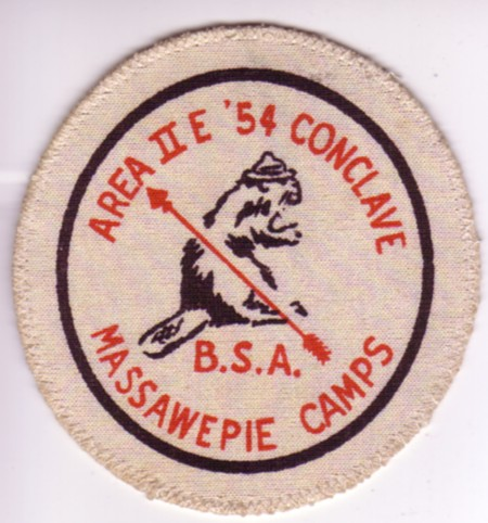 Area 2-E 1954 Pocket Patch