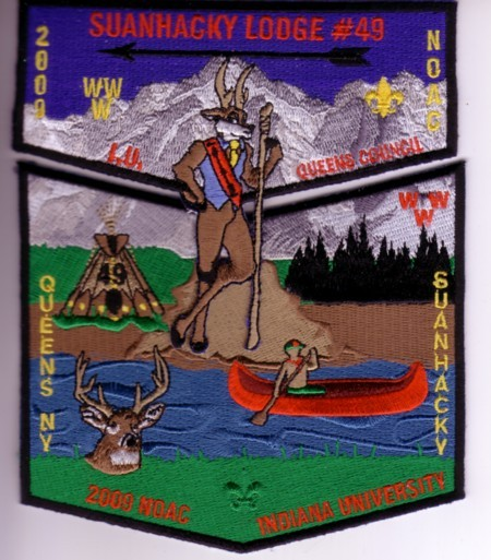 Corrected Suanhacky Lodge #49 2009 NOAC set
