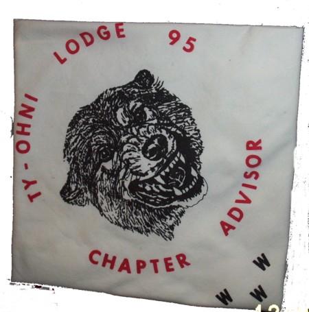 Ty-Ohni Lodge #95 N2.5 Lodge Executive Committee Neckerchief