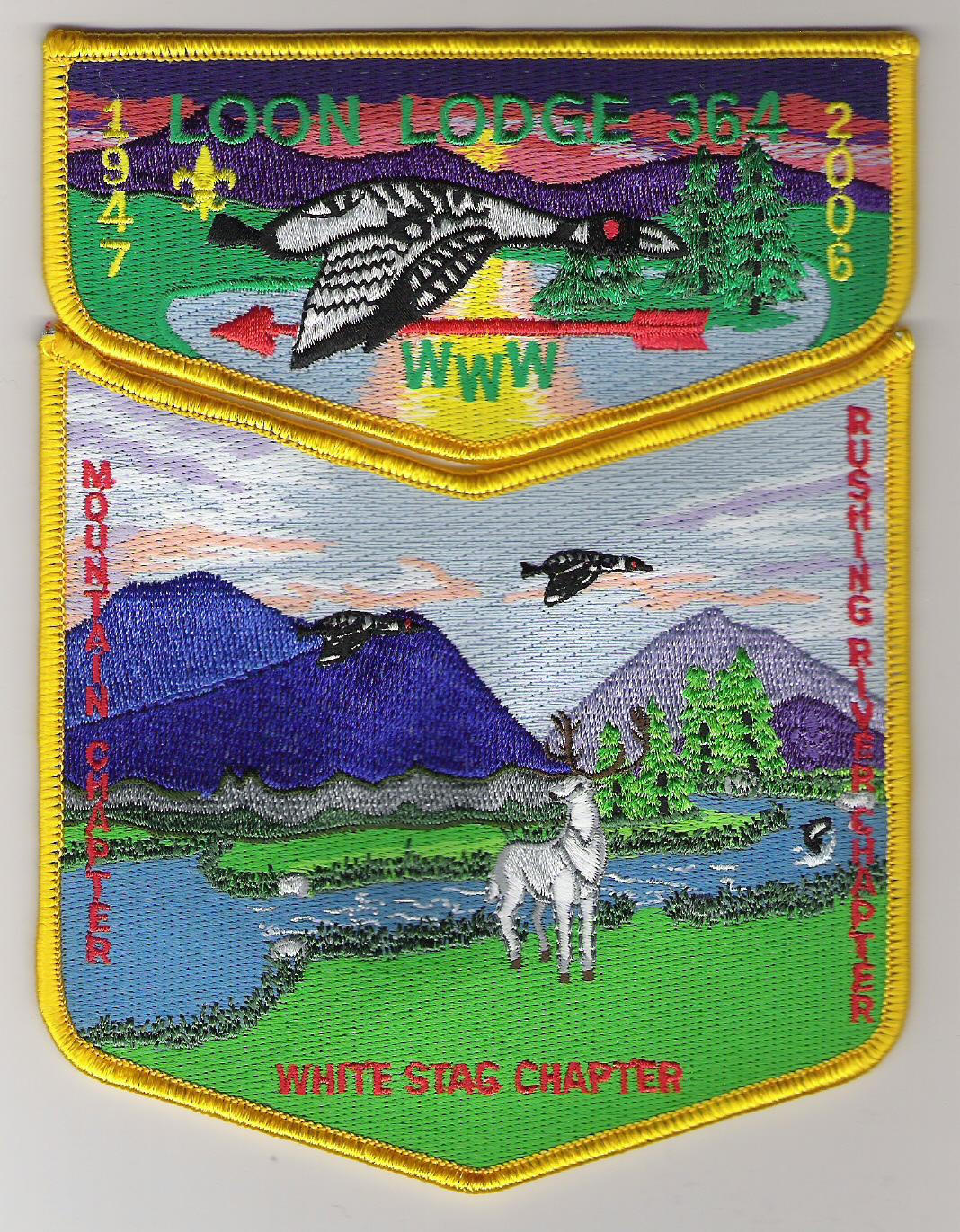 Loon Lodge #364 Memorial Set 1947-2006 S22 X6