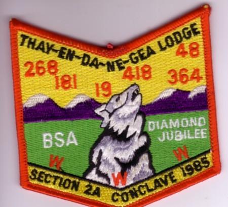 Section NE-2A 1985 Pocket Patch